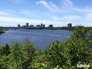Ottawa River facing Hull