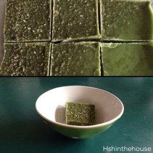 Matcha moisture bars