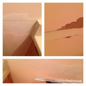 sanding polyfilla over drywall errors